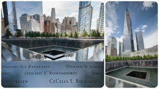 A Walking Tour Around The 9/11 Memorial Site In New York City 2017