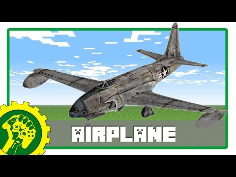 Minecraft Tutorial - Membuat Pesawat Terbang | Airplane