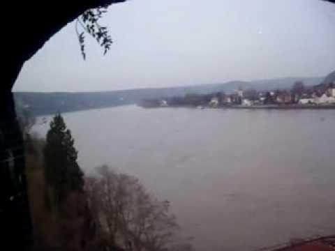 View north east from Remagen bridge