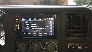 Installing & wiring a Double Din Stereo Head Unit - 2002 Chevy Tahoe