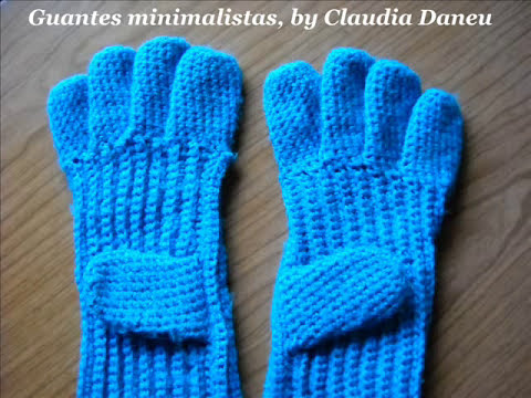 Fashion Crochet Accessories: GLOVES- (GUANTES AL CROCHET)