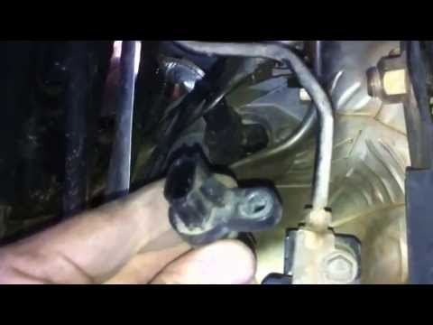 2005-2012 Xterra/Frontier/Pathfinder Crankshaft Position Sensor Replacement