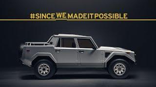 Lamborghini LM002: #SinceWeMadeItPossible