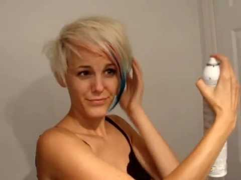 Putting Tape Extensions In Short Hair 79
