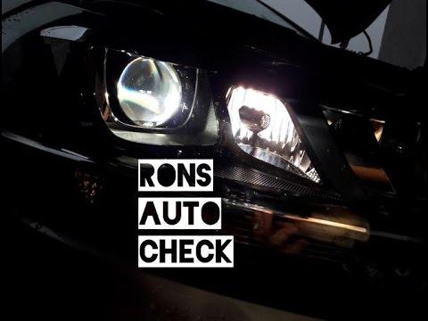 VW Golf 7 H7 Birnen Lampen Wechseln in Bi Xenon Scheinwerfer Kurvenlicht Abbiegelicht
