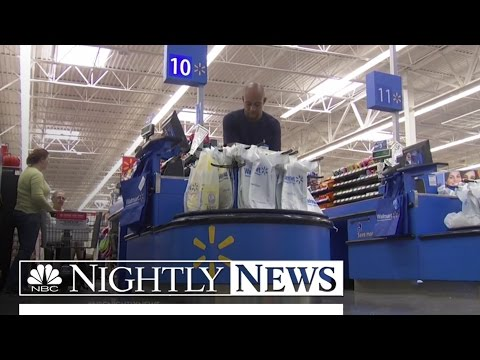 Walmart To Give 500,000 Workers A Pay Raise | NBC Nightly News