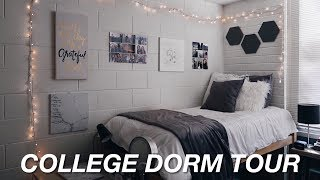 COLLEGE DORM TOUR 2017!