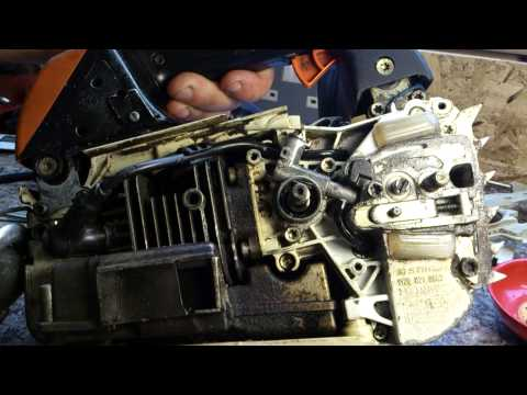 Stihl MS200 Chainsaw Oiling Problem Repair