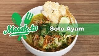 Soto Ayam  | Resep #040 - Indonesian chicken soup recipe
