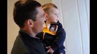 Confused Baby Charlie Meets His Fathers Twin Brother For The First Time !