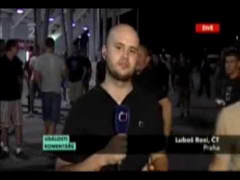 Чешский журналист (глум в прямом эфире)