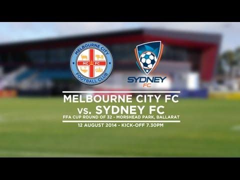Melbourne City FC v Sydney FC Live