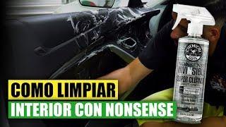 Como Limpiar Interior con Nonsense  - Chemical Guys Car Care