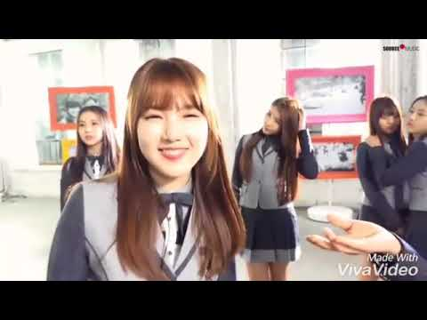 BTS And GFRIEND Moments During Smart Uniform Behind The Scene