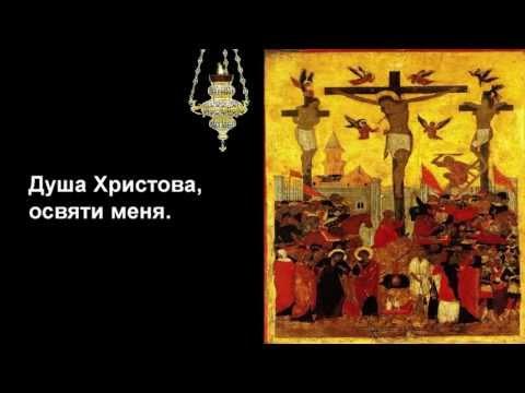 Христианские песни - Anima Christi