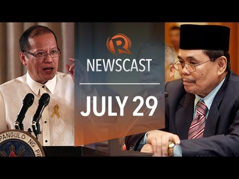 Rappler Newscast: Napoles at Bagong Diwa, Pope Francis PH visit, MH17 shrapnel crash