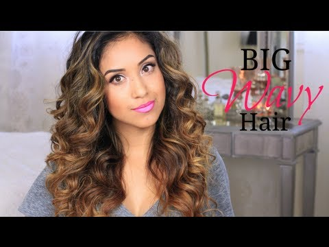 Big Wavy Hair Tutorial + Give-a-way!