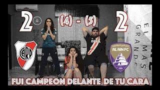 River Plate 2 (4) vs Al Ain 2 (5) | SEMIFINAL MUNDIAL DE CLUBES | REACCION DE HINCHAS |