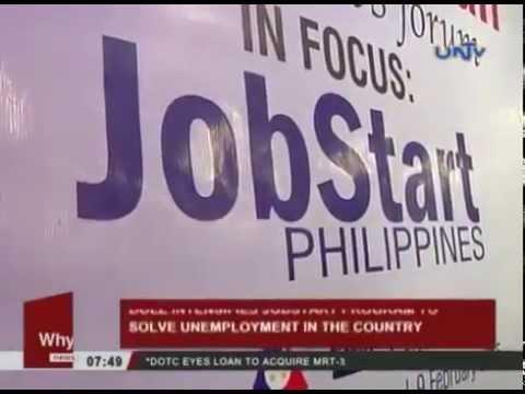 DOLE intensifies jobstart program to solve unemployment Feb  9, 2015