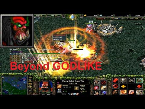 DotA 6.81d - Axe, Mogul Khan Beyond GODLIKE !