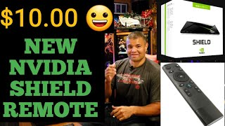 New Nvidia Shield Remote Unboxing. 😀
