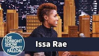 Issa Rae Got Awkward Meeting Jimmy Backstage