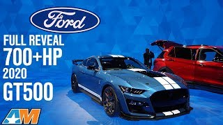 Full Reveal 700+hp 2020 Shelby GT500 + Interview With GT500 Engineer - Mustang News
