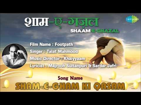 Sham-E-Gham Ki Qasam | Footpath | Talat Mahmood | Dilip Kumar...