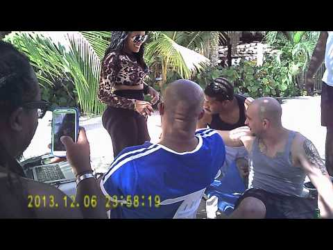 GIRL BOCA CHICA BEACH Dominican Republic FUNNY