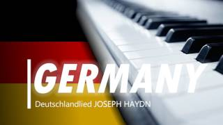 National anthem of Germany-PIANO