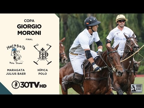 Copa Giorgio Moroni 2016 - Maragata Julius Baer x Hípica Polo