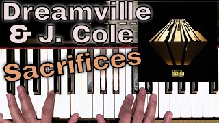 Sacrifices (Piano Cover) - Dreamville, EARTHGANG, J. Cole, Smino and Saba