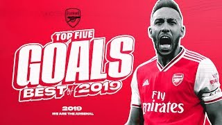 Who scored our best goal of 2019? | Auba, Lacazette, Pepe | Best of 2019 compilation