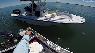 Fisheries Police Boarding - What's in the Cooler??
