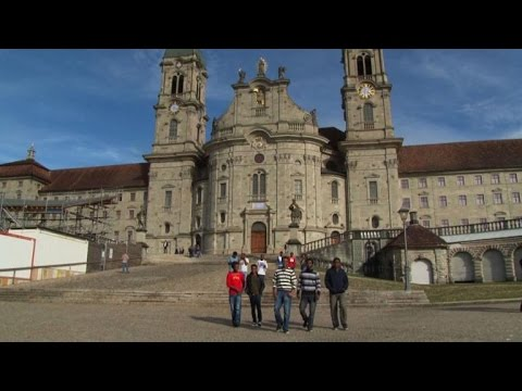 Eritrean asylum seekers find refuge in Swiss monastery