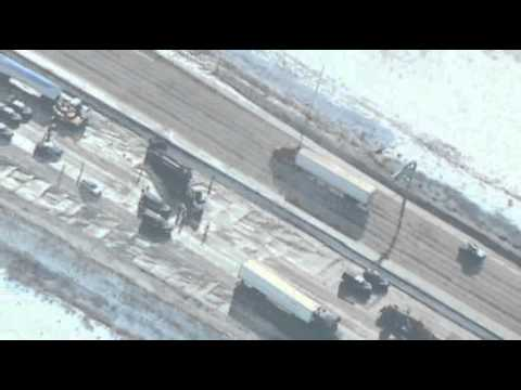More Than 40 Vehicle Idaho Pileup
