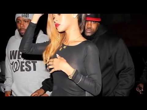 Rihanna completely see through dress, nipple ring