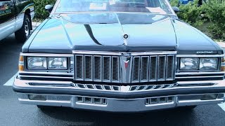 1979 Pontiac Bonneville Four Door Sedan Blk Ocoee110814