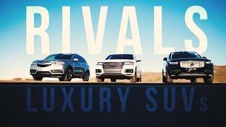 Rivals: Acura MDX vs. Audi Q7 vs. Volvo XC90