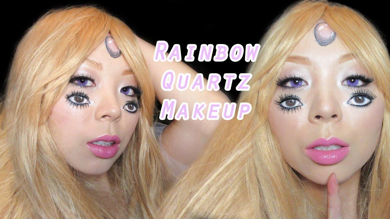 Rainbow eye makeup