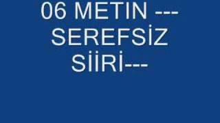 06 METİN----SEREFSİZ SİİRİ----