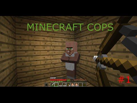 Minecraft Cops PART 1-BLACK MARKET GOLD!?