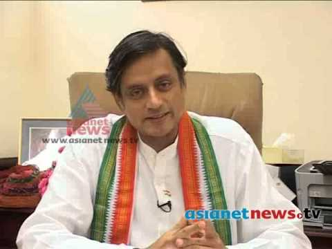 Shashi Tharoor's Candidate Issue : Asianet Breaking News video