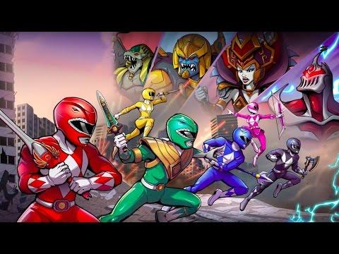 Mighty Morphin Power Rangers: Mega Battle Official Launch Trailer