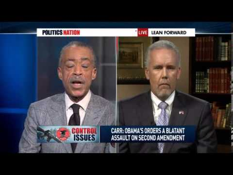 Gun Fight - Al Sharpton vs Tennessee State Rep Joe Carr