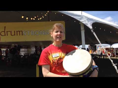 BEATING cancer through RHYTHM during DRUMSTRONG in Huntersville, NC
