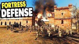 INVASION 1941 FORTRESS DEFENSE | RobZ Realism | Men of War: Assault Squad 2 Gameplay