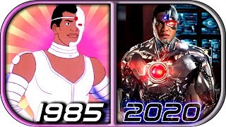 EVOLUTION of CYBORG in Movies Cartoons TV (1985-2020) Cyborg trailer 2020 movie trailer cyborg clip