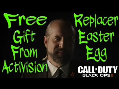 Get your free gift from Activision - The Replacer Easter Egg