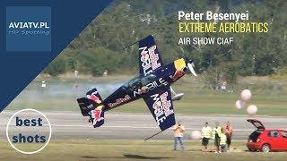 Peter Besenyei - extreme aerobatics - air show CIAF